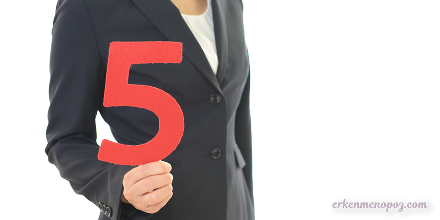 5 öneri