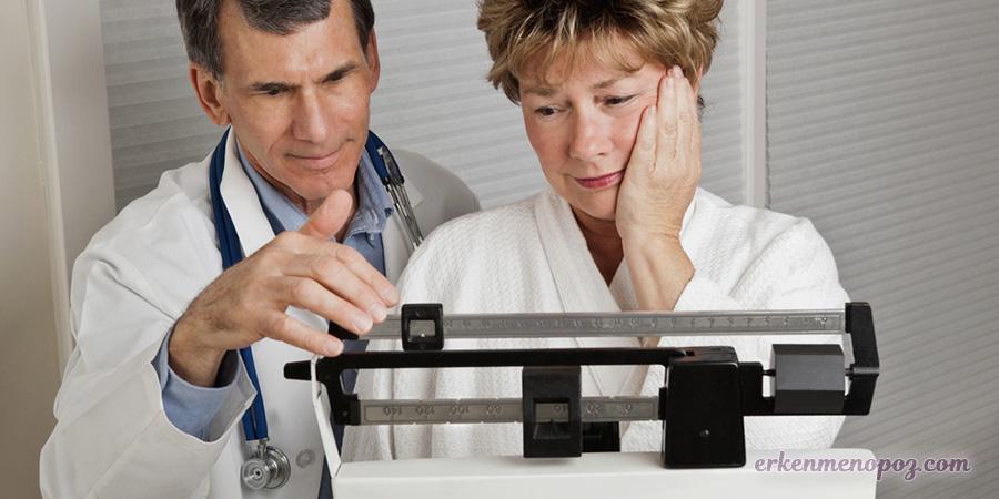 menopoz ve kilo