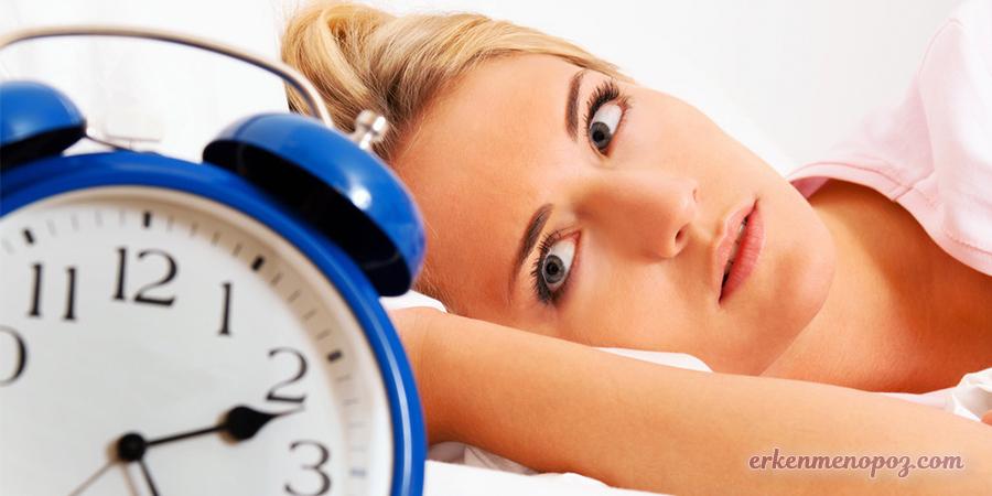 menopozda uyku sorunu